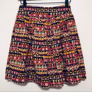 Anthropologie edme & esyllte Multi Color Skirt
